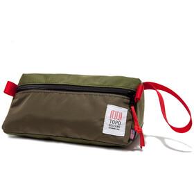 Topo Designs Dopp Kit, olive/olive